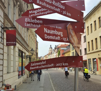 Wittenberg-Wegweiser-Ausflugsziele
