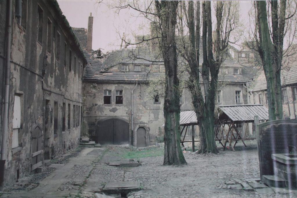 Cranach Hof Wittenberg vor Restaurierung