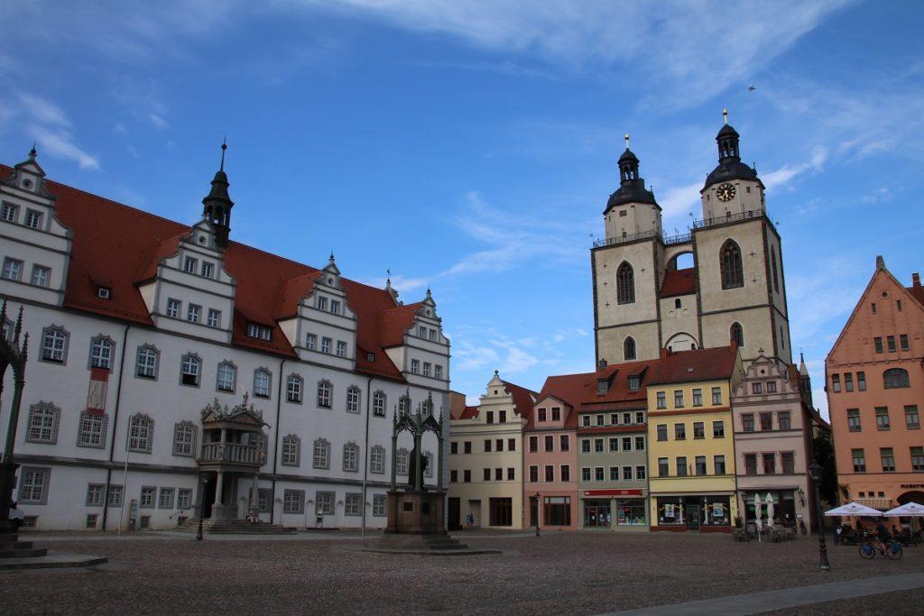 Marktplatz in Wittenberg