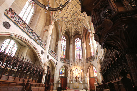 Altar der Schlosskirche Wittenberg