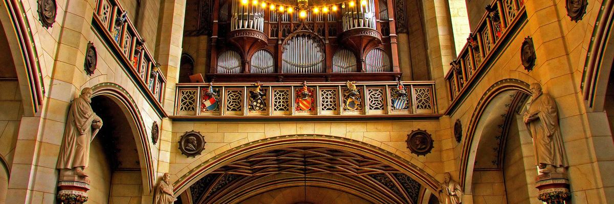 Orgel Schlosskirche Wittenberg