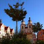 Wittenberg Stadtkirche und Rathaus
