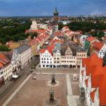 einzigatrtige Aussicht von der Stadtkirche Wittenberg