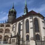 Schlosskirche Wittenberg und Schlosshof