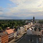 Blick vom Stadtkirchenturm Wittenberg
