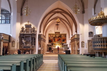 Stadtkirche innen