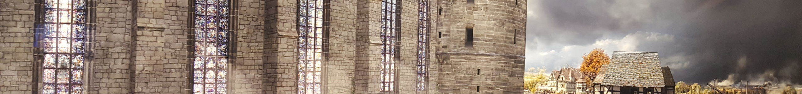 """Ausschnitt aus dem Asisi Panorama """"Luther 1517"""""""