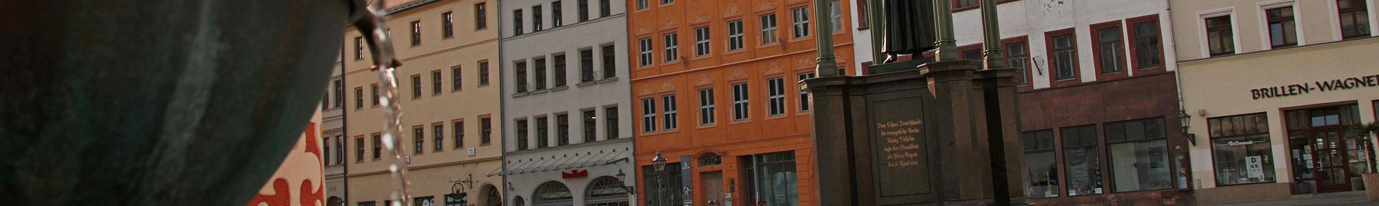 Cranach Hof Markt Wittenberg