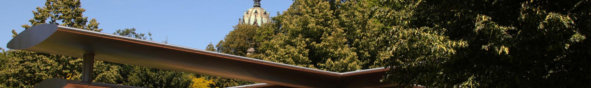 Kreuz im Luthergarten Wittenberg