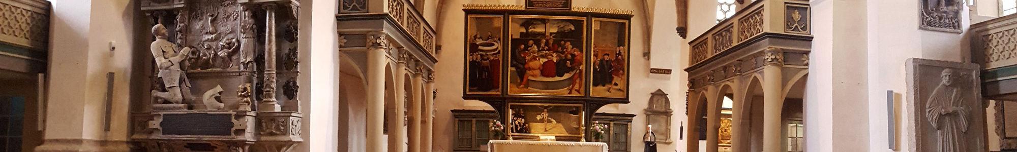 Altar Stadtkirche Wittenberg