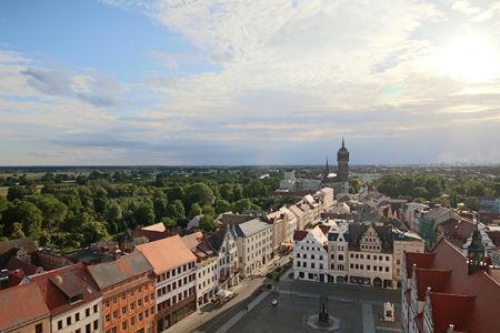 Ausblick von der Stadtkirche Wittenberg
