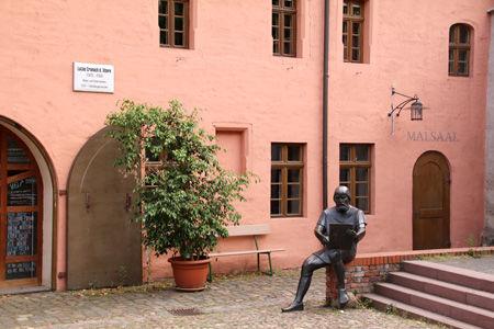Cranach Hof Wittenberg und Malschule