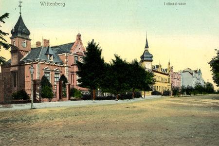 Lutherstrasse in Wittenberg