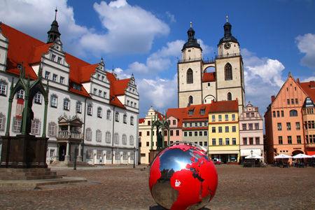 Wittenberger Markt mit Rathaus