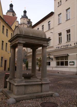 Röhrwasserbrunnen Holzmarkt Wittenberg