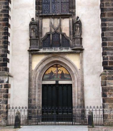 Schlosskirche wittenberg Thesentür